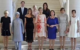 Giữa dàn Đệ nhất phu nhân tài sắc, chồng của Thủ tướng Luxembourg mới thực sự là tâm điểm gây chú ý