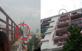 Thái Lan: Bạn thân đi lấy vợ, thầy giáo đòi nhảy tự tử từ tầng 9 tòa nhà cao tầng