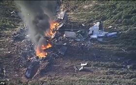 Máy bay quân sự Mỹ rơi, 16 người chết