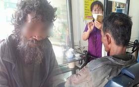 Thấy người đàn ông khốn khổ đi vào tiệm, cô thợ cắt tóc liền trổ tài và kết quả thật đáng kinh ngạc