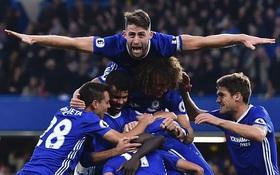 14 trận đấu quyết định ngôi vô địch Premier League 2016/17