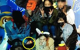 Bộ 3 gây tranh cãi Sulli, Ga In, Hara bất ngờ đi chơi công viên giải trí... cùng G-Dragon