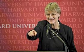 Chân dung nữ hiệu trưởng Đại học Harvard, người tuyên bố sẽ về hưu vào năm 2018