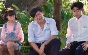 """Ngô Kiến Huy thất tình ngồi khóc và hát nghêu ngao trong trailer """"Cô Gái Đến Từ Hôm Qua"""""""