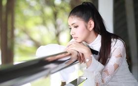 """Vẻ đẹp ngọt ngào tựa nữ thần của hot girl Thái Lan không cần """"thả thính"""" cũng khiến nhiều chàng trai tự đổ"""