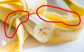 """Những """"sợi vàng"""" trên quả chuối là gì mà sao chúng cứ khiến ta """"phát điên"""" khi ăn vậy nhỉ?"""