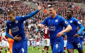 Leicester thắng trận thứ tư liên tiếp sau thay tướng