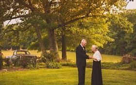 Mối tình già son sắt của cặp vợ chồng trong bộ ảnh kỉ niệm 65 năm ngày cưới khiến ai cũng thầm ao ước