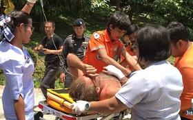 Thái Lan: Rơi xuống thác nước vì chụp ảnh selfie, nam diễn viên người Anh suýt chết khi mắc kẹt 3 ngày không thức ăn