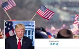 Ông Trump tải nhầm ảnh nhậm chức của Obama lên Twitter