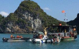 Tìm thấy thi thể khách nước ngoài rơi xuống biển Hạ Long, có tạ buộc ở chân