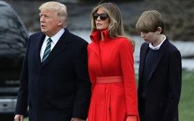 Vợ con Tổng thống Trump sắp chuyển vào Nhà Trắng