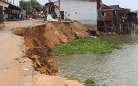 """""""Hố tử thần"""" dưới sông Vàm Nao có thể nuốt nhà 10 tầng, rộng 4,5 ha"""