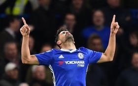 Sút tung lưới đội bạn 2 lần, Costa tạo thống kê đáng khâm phục