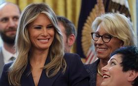 Vợ ông Trump lần đầu đón sinh nhật tại Nhà Trắng