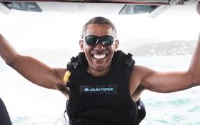 Hậu Nhà Trắng, ông Obama thảnh thơi chu du