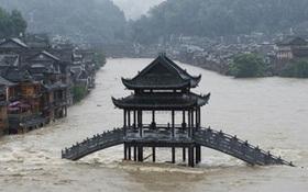 Mưa lũ nghiêm trọng ở miền Trung Trung Quốc, 260.000 người sơ tán