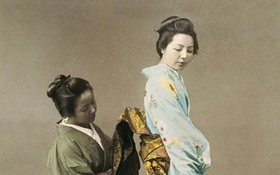 Phụ nữ quý tộc Nhật xưa thuê người về không chỉ để giúp việc mà còn chịu trách nhiệm cho một nhu cầu đặc biệt