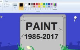"""""""Tất cả đã hiểu lầm! Chúng tôi không khai tử Microsoft Paint"""""""