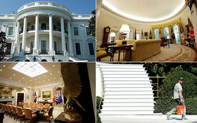 Ngắm diện mạo mới của Nhà Trắng sau khi đại tu