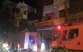 Cháy nhà 6 tầng ở Thái Bình, một thai phụ nhập viện trong đêm