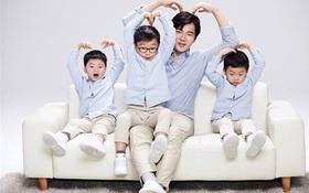 Ông bố quốc dân xứ Hàn và cách dạy 3 con sinh ba đến chuyên gia tâm lý cũng phải khen ngợi