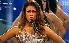 Thay vì công bố số đo 3 vòng, các thí sinh Hoa hậu này lại nói lên những con số gây sốc cho người xem