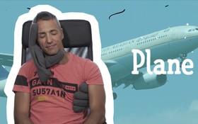 """Không có người yêu mà đi du lịch thì phải có ngay chiếc gối ngủ """"ôm ấp"""" này"""