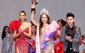 Bùi Thị Như Ý đăng quang Hoa hậu sắc đẹp Việt toàn cầu 2017