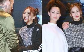 """Angela Baby hớn hở """"ra mặt"""" vì được gặp David Beckham, cùng đọ sắc bên tình cũ G-Dragon"""