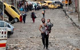 Những hình ảnh đau thương về cuộc chiến chống IS