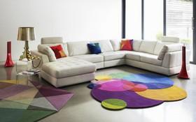 Gợi ý 14 mẫu thảm trải sàn rực rỡ giúp căn phòng biến thành cầu vồng đẹp mắt