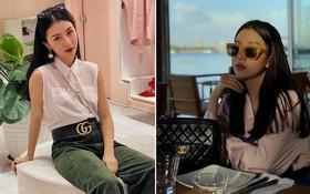 Ngoài BST Louis Vuitton x Supreme đáng ghen tị, tủ đồ hiệu của Quỳnh Anh Shyn còn có loạt món đồ đắt đỏ khác
