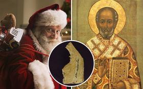 """Mới tìm thấy mẩu xương được cho là của """"Ông già Noel"""""""