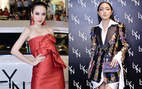 Angela Phương Trinh hội ngộ Châu Bùi trong tiệc ra mắt cửa hiệu LYN đầu tiên tại Việt Nam