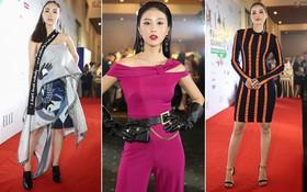 """Quỳnh Anh Shyn """"lên đồ"""" ấn tượng chẳng kém gì Phạm Hương, Minh Hằng trên thảm đỏ Elle Fashion Show"""