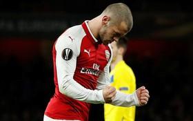 "Arsenal giành chiến thắng ""6 sao"" ở Europa League"