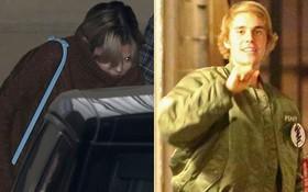 Vừa về nhà sau chuyến đi xa, Selena Gomez đã che kín mặt đi hẹn hò với Justin Bieber