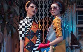 Cặp đôi mỹ nhân Cô ba Sài Gòn đẹp hoài cổ với trang phục của Thuỷ Design House