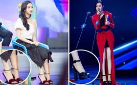 """BST giày cao gót """"bá đạo"""" của Phạm Băng Băng, Angela Baby: lênh khênh như cà kheo, thậm chí không có gót nhìn đã muốn trẹo chân"""