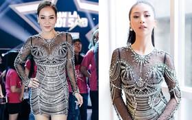 Váy sexy trưởng thành của Quỳnh Anh Shyn hóa ra được diva Thu Minh mặc từ 5 tháng trước