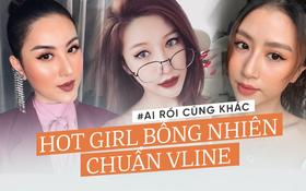 4 hot girl cằm ngắn bỗng nhiên... dài ra thành chuẩn Vline