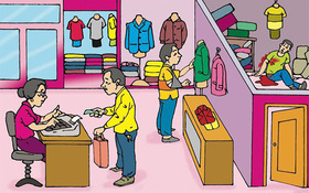 Có 1 người bị giết ở cửa hàng quần áo, 3 kẻ tình nghi đều có mặt ở hiện trường, hãy tìm ra hung thủ