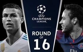 Chelsea gặp Barca, Real đối đầu PSG ở knock-out Champions League