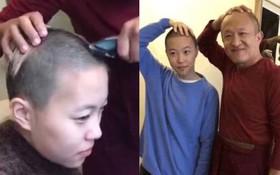 Lộ clip con gái Vương Phi cạo đầu, xuất gia tu hành khi mới 20 tuổi?