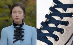 """Khoác áo style dây giày đan, """"quý bà"""" Shin Se Kyung thuê nhầm anti-fan làm stylist?"""