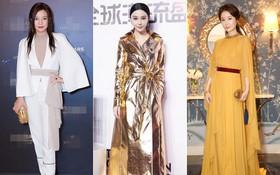 """Style của bộ 3 Hoàn Châu Cách Cách: """"A hoàn"""" trở thành nữ hoàng thảm đỏ sang chảnh lồng lộn, 2 """"công chúa"""" lại đơn giản, nhẹ nhàng bất ngờ"""