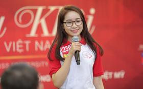 Buổi giao lưu của top 45 Hoa khôi Sinh viên Việt Nam 2017 với các doanh nhân thành đạt
