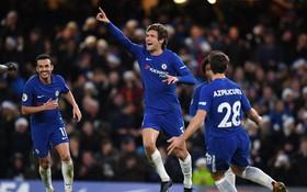 Chelsea giành chiến thắng tối thiểu, san bằng điểm số với Man Utd
