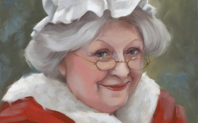 Ít ai biết rằng, có một Bà già Noel xuất thân từ phù thủy, đêm Giáng sinh cưỡi chổi phát quà